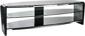 """Alphason Francium 1400 Black TV Stand for up to 65"""" TVs"""