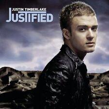 Audio CD - JUSTIN TIMBERLAKE - Justified - POSTER USED Like New (LN) WORLDWIDE