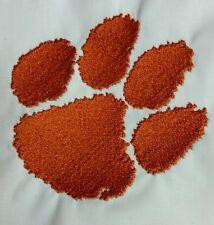 "NCAA Clemson Tigers  2.5"" X 2"" Logo Sew/Iron on Patch"