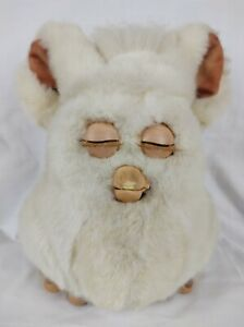 Furby 59294 2005 White Hasbro Tiger Electronics Emoto-Tronic Not Working