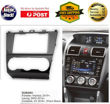 Fascia facia Subaru Forester Impreza Levorg WRX XV Double Two 2 DIN Dash Kit