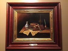 Javier Mulio Original Oil Painting - MUSIC Still Life