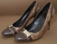 GUCCI GG Crystal Bow  Hells Shoes size 39,5 US  9