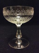 Choisy-le-Roi H±11,1 cm Coupe à champagne cristal Christine Guilloché M France