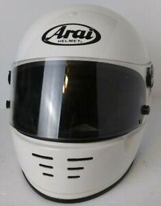 White Arai Helmet GP-3T FOR PARTS / REPAIR
