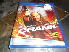 Crank (Blu-ray Disc, 2007) BRAND NEW FACTORY SEALED