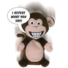 Chitter chiacchiere SCIMMIA parlante giocattolo morbido peluche copie rumore & quello che dici 9339