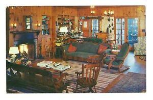 WILLISTON VT Twist O'Hill Lodge & Cottages Vtg Postcard