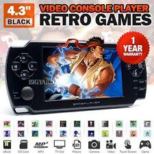 "4.3"" Black Handheld Camera Video Console Player Retro Games MP3 NES GBA GBC PS1"