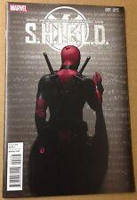 Shield 1 Deadpool variant cover TV show comic 1st print