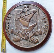 Tape de Bouche Marine DOUDART DE LAGREE Aviso Escorteur ORIGINAL Bronze