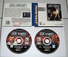 Gioco Pc Cd STAR WARS JEDI KNIGHT Dark Forces II 2  - ITA 1997 Guerre Stellari
