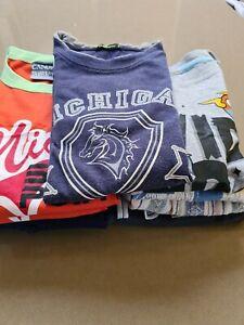 Boys Size 6 & 7 Bulk Mixed Bundle Lot - 15 Items - Some NWT Jackets Tops Shorts