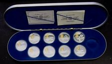 1990 1994 Aviation  Series Set 1 Silver proof coins missing one coin