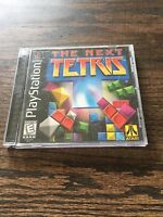 The Next Tetris Sony PlayStation 1 PS1 PSX PSONE Black Label Game