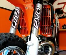 KTM Husaberg Husqvarna RADIATOR GUARDS / BRACE / GUARD Orange Flo Motorsports