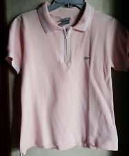 AUTH. BRAND WOMEN'S SILVER EDITION ZIP UP SHIRT-PINK,Medium size 7