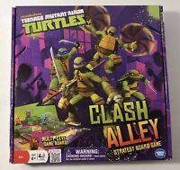 Nickelodeon Teenage Mutant Ninja Turtles Clash Alley Strategy Board Game