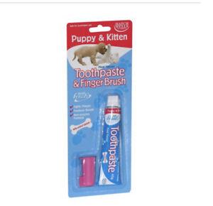 Hatchwells Dentifresh Toothpaste Finger Brush for Puppy & Kitten