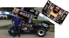 CD_DSC_084 #15 Donny Schatz STP Gas Booster Sprint Car  1:64 Scale Decals