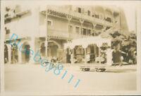 1929 Egypt Port Said street Scene Horse Drawn Tram 3.5 x 2.25 Inch Orig Photo
