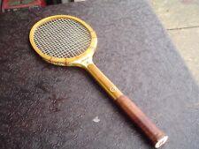 Vintage Bancroft Aussie Laminate Wood Frame Tennis Racquet Usa