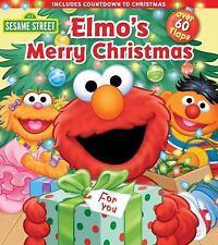 Elmo's Merry Christmas (Sesame Street Lift the Flap)