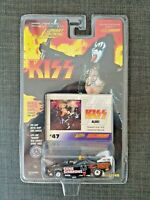 JOHNNY LIGHTNING 1997 RACING DREAMS - KISS - Gene Simmons  CAR #47 + PHOTO CARD