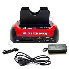 DOCKING STATION HDD HARD DISK 3,5 2,5 SATA IDE 2 HD HDD BOX CASE MINI USB SD