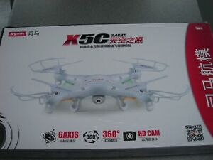 Remote control drone with camera - Syma - 31.5cm across - Ages 14+