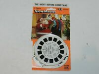 The Night Before Christmas View-Master 3 Reel Packet Set 4211 2005 Complete