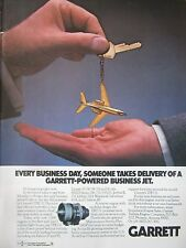5/1982 PUB GARRETT TURBINE ENGINE TFE731 ENGINE FALCON 10 50 BIZJET LEARJET AD