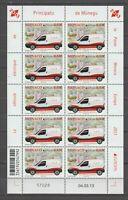 S37149 Monaco Europa Cept MNH 2013 Ms Vehicles Post
