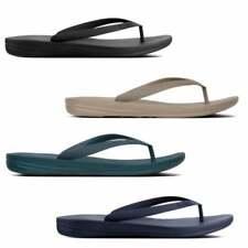 FitFlop IQUSHION ERGONOMIC Mens Summer Beach Slip Resistant Flip Flops Sandals