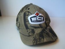 ECI Trucks East Coast International Camo Hat Green Hook Loop Baseball Cap