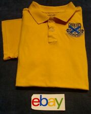OLD NAVY REG.CA 1679 ATH DEPT Men Shirt Yellow Sz XL Short Sleeve COTTON EUC!
