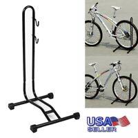 US Bike Bicycle Coated Floor Stand Bike Display Rack Storage Holder Repair Power