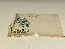 Pearson's Harness Horse Equipment Catalog - 1968