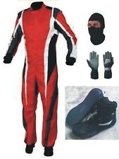 Go Kart Race Suit ( Gifts Included)