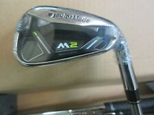 NEW TaylorMade GOLF M2 HL 4-PW Iron set REAX Steel Regular Flex Men's