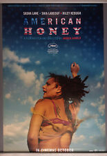 Cinema Poster: AMERICAN HONEY 2016 (One Sheet) Sasha Lane Shia LaBeouf