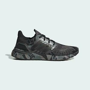 Adidas Ultraboost 20 Men Running Shoes Geometric Black/Grey FV8329