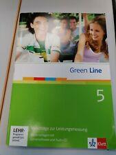 Green Line 5 Vorschläge zur Leistungsmessung + Lehrersoftware  SEHR Gut w. Neu