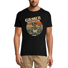 ULTRABASIC Homme T-shirt Gamer Till The End - Joueur jusqu'à la fin - Tête mort
