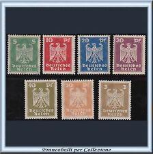 1924 Deutsches Reich Aquila n. 348/354 Nuovi Integri ** Germania