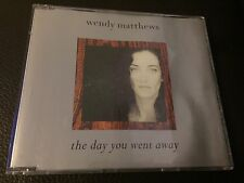 RARE Wendy Matthews The Day You Went Away used 3Track cd-single 1991 Free post