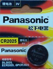 CR2025 Panasonic Lithium 3V Battery Knopfzelle Batterie, NEW original versiegelt