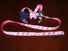 Dog Coats: Yuppy Yaps Mini Dachshund harness and lead assorted colours