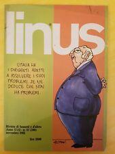 """RIVISTA DI FUMETTI E D'ALTRO """"LINUS"""" NOVEMBRE 1981 ANNO XVII N. 11"""