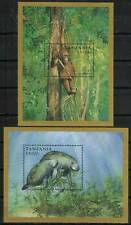 Tanzania Stamp 1695-1696  - Manatee or orangutan